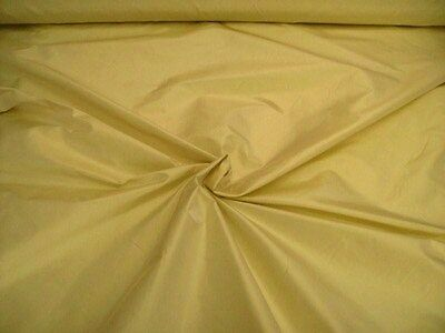 "`biscuit` Pure Silk Fabric Taffeta Dupion Heavy 54"" Wide Priced By Half Metre"