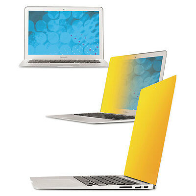 Frameless Gold Notebook Privacy Filter for 13'' MacBook Air