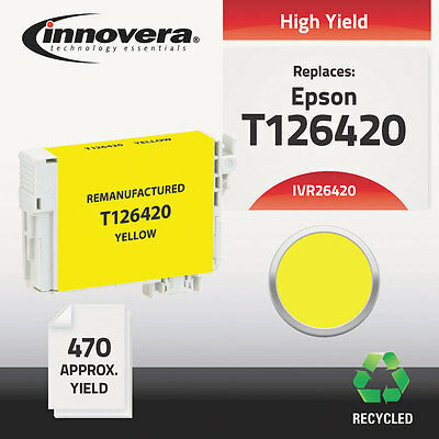 26420 Compatible Reman T126420 (T-126) Ink, 470 Page-Yield, Yellow