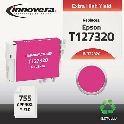 27320 Compatible Reman T127320 (T-127) Ink, 755 Page-Yield, Magenta