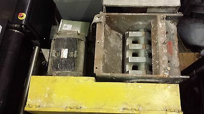 "General Electric 30 HP 17"" x 20"" Plastic Granulator Shredder Material Grinder"
