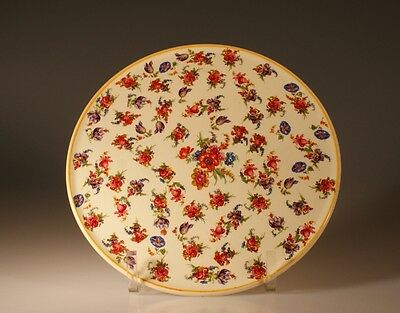Vintage Round Chintz Cakeplate, Made In England