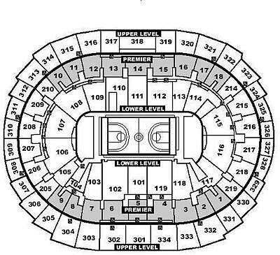 (2) LOS ANGELES LAKERS vs Sacramento Kings 4/15 ticket Sec315 Row10 ($29)