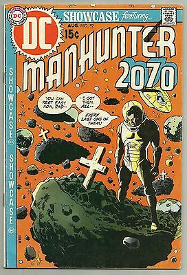 SHOWCASE #92 (1970, DC) Manhunter 2070