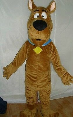2015 year hot selling Super Scooby  Doo Adult Mascot Costume fancy dress