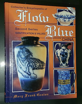 FLOW BLUE CHINA VALUE GUIDE COLLECTOR'S BOOK WEDGEWOOD DOULTON ADAMS BOWL++