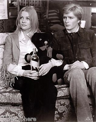 Vintage photo of Judy Geeson & Martin Potter in GOODBYE GEMINI 1970 K038