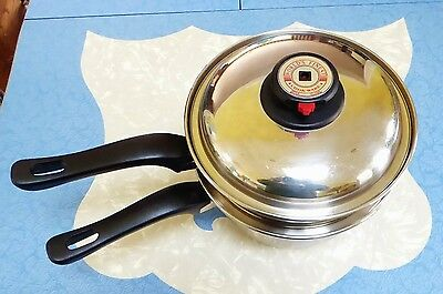 Worlds Finest Steam Control  T304 Stainless  Cookware  LOOK  7 Ply Multi Pot LID
