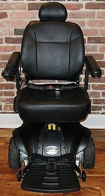 PRIDE JAZZY TSS 300 POWER CHAIR WITH CUSTOM MATTE BLACK TRUCK BED PAINT JOB!!!!!