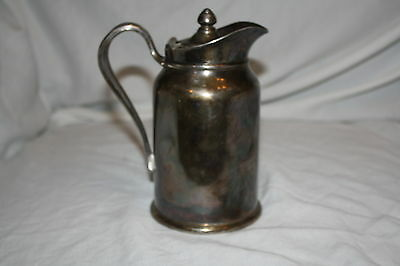 REED & BARTON Insulate Silver Soldered  Coffee Tea Pot Pitcher