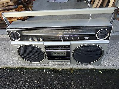 vintage panasonic boombox RX-5080,cassette tape player/recorder,ghetto blaster