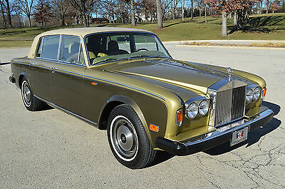 Rolls-Royce : Silver Shadow - Wraith II LOW, LOW 7,600 miles!! Immaculate example in rare color combination. Stunning!