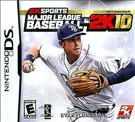 Major League Baseball 2K10  (Nintendo DS, 2010)