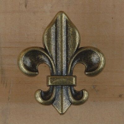 Fleur de Lis ~ French Style ~ Cabinet Drawer Pull Knob { 5 Color Styles } by PLD