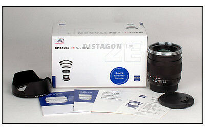 New Carl Zeiss Distagon T* 25mm f/2 ZE for Canon EOS 5D III 1Dx 1DS 1D mark II