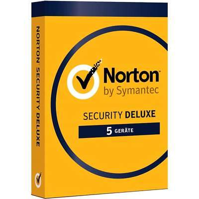 NORTON SECURITY 2019 - 5 Geräte - Vollversion v3.0 DELUXE Lizenz