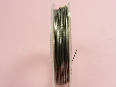 10M x TIGER Tail 0.38mm (27 SWG) Beading WIRE Jewellery Findings ~ PICK COLOR ~