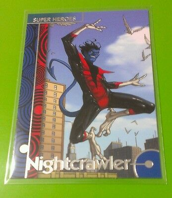 NIGHTCRAWLER #27 MARVEL RETRO FLEER UPPER DECK BASE TRADING CARD 2013 SET