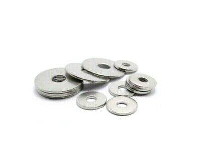 M6 x 50mm METRIC ZINC LARGE PENNY REPAIR FENDER MUDGUARD WASHERS * 500