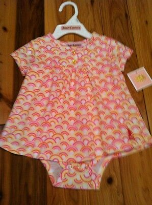 BNWT'S BABY GIRL 3/6M JUICY COUTURE SET RETAIL VALUE $38.00