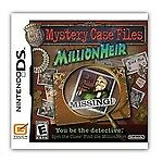 Mystery Case Files:MillionHeir(Nintendo DS, 2008) Game/Case/Instructions Booklet