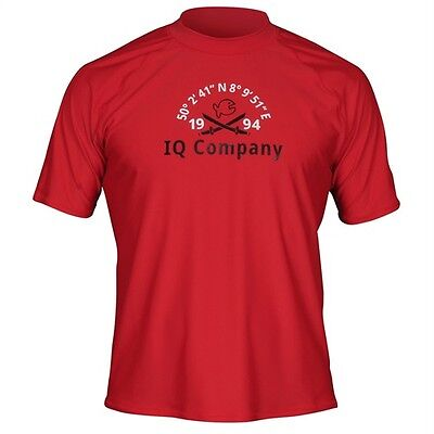 iQ UV 300 T-Shirt Watersport 94 red Men Gr. M