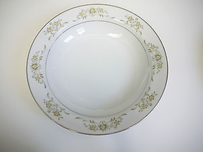Lot of 2 Royal Court Sharon Salad Plates #431 Japan Yellow Flowers Green Leaves