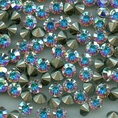 1028 SS24 CI ***15 Strass Swarovski fond conique 5,3mm CRYSTAL AB