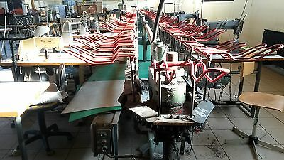 Rotary Assembly line machine for shoe production