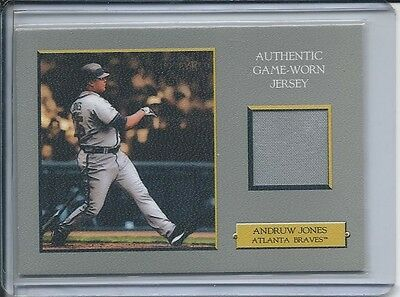 Andruw Jones Game Jersey Braves 2006 Topps Turkey Red Relic #TRR-AJ