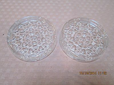 PAIR OF VINTAGE REPLICA 200 INCH PYREX TELESCOPE DISC CORNING GLASS WORKS