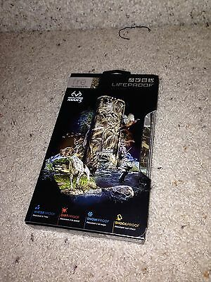 Apple iPhone 5/5s Lifeproof Fre Real Tree Camo 100% Authentic *NEW* USA Seller