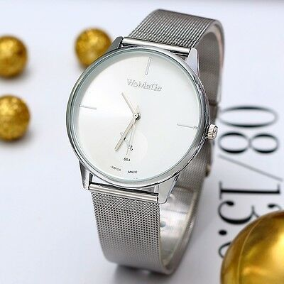 New Fashion Classic Women's Quartz Stainless Steel Wrist Watch Hot Lady style