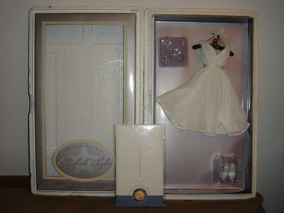 Franklin Mint Elizabeth Taylor Cat On A Hot Tin Roof Gown Ensemble New with COA