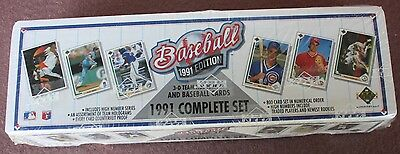 1991 Upper Deck 800 card set Complete factory sealed       COMBINE SHIPPING SAVE