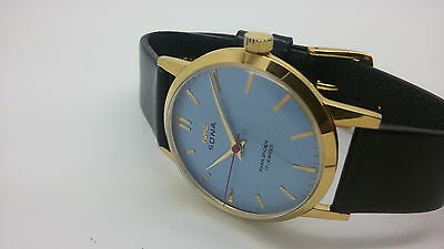 vintage mens hmt sona gold plated 17 jewels rare india watch run order free ship