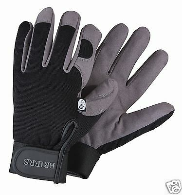 Briers Professional Synthetic Garden Gardening Gloves ~ Medium ~ Large