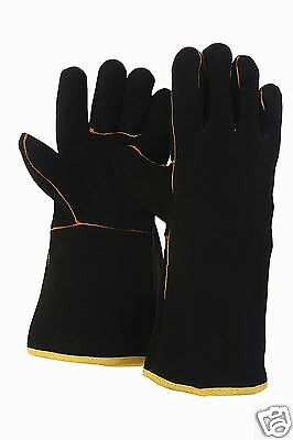 Briers Leather Gauntlet Garden Gardening Gloves ~ Large ~ B0212