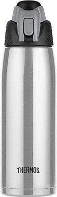 Thermos Vacuum Insulated 24-Ounce Stainless Steel Hydration Bottle, Stainless St