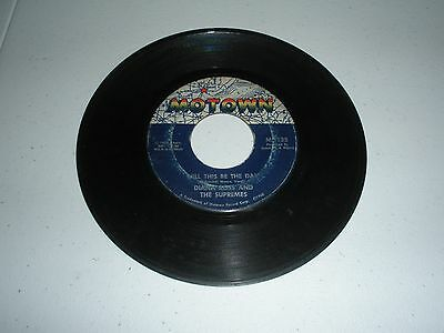 45 record DIANA ROSS and THE SUPREMES Love Child/Will This Be The Day - MOTOWN