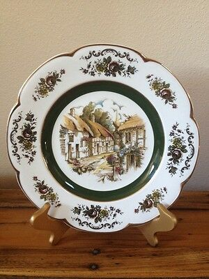"Ascot Service Plate by Wood and Sons ENGLAND. Ironstone 10 1/2"" diameter"