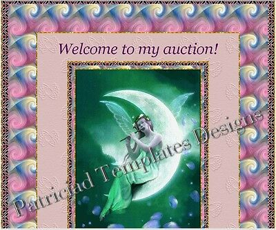 Auction Template Animated A Fairy Playing A Melodious Flute Free Music