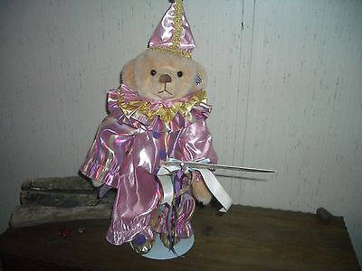 """Annette Funicello Bear,  Masquerade bear, 15"""" with tag's. Collectible Bear."""