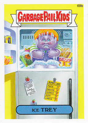 """2014 GARBAGE PAIL KIDS 2ND SERIES """"ICE TREY"""" CARD #69b ONLY 99 CENTS!"""