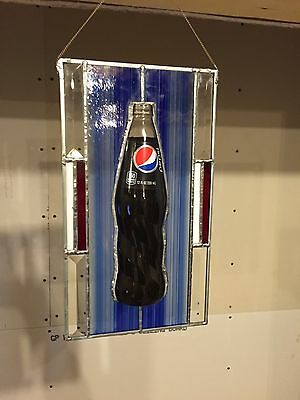 pepsi stained glass- Make Offer