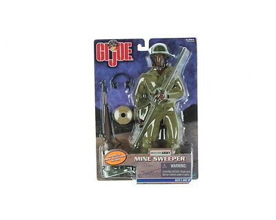 New G.I. JOE MINE SWEEPER U.S. ARMY 12 INCH AA ACTION FIGURE DETECTION ACTION