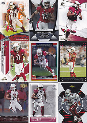 Larry Fitzgerald 35 card lot, all different