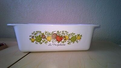 Vintage Corning Ware Loaf Pan - Spice of Life