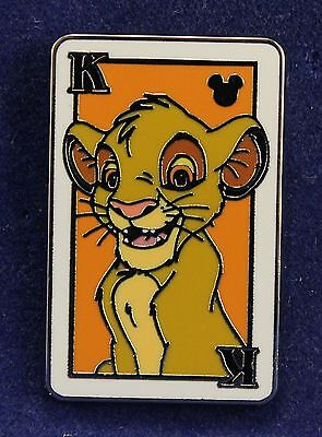 Disney Hidden Mickey Deck of Playing Cards Series 2014 SIMBA The Lion King Pin