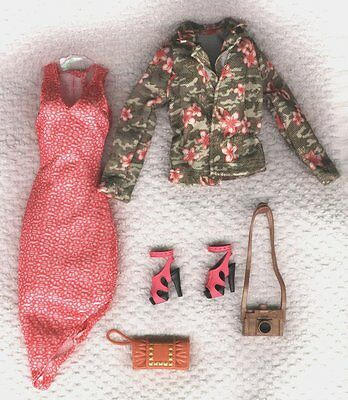 Barbie  Life in the Dreamhouse  Dress,shoes, Jacket - Genuine Mattel Items